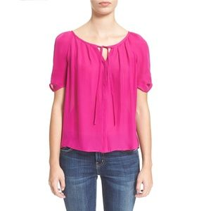 Joie 'Berkeley' Silk Freesia Top